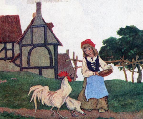 красная шапочка с картинками читать