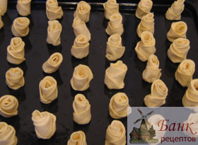 Печенье розы
