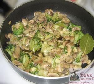 рецепт брокколи на гарнир