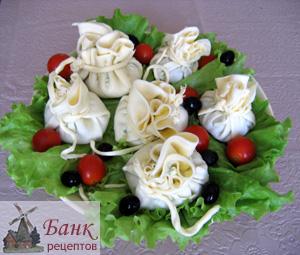 Фото оригинальный салат