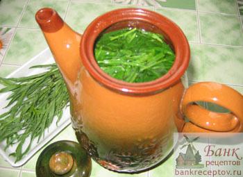 Этот рецепт приготовления напитка из тархуна (эстрагона) лучше...