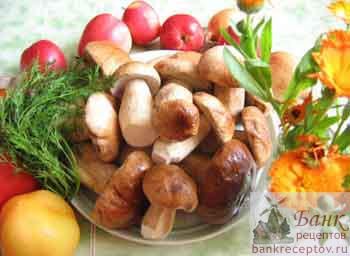 рецепт супа из белых маринованных грибов