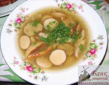вкусный суп из белых грибов рецепт с фото