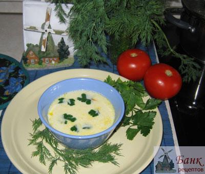 Фото суп с плавлеными сырками