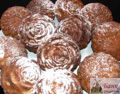 Творожные кексы, рецепт и фото