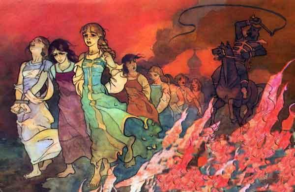 Бессмертный русская народная сказка