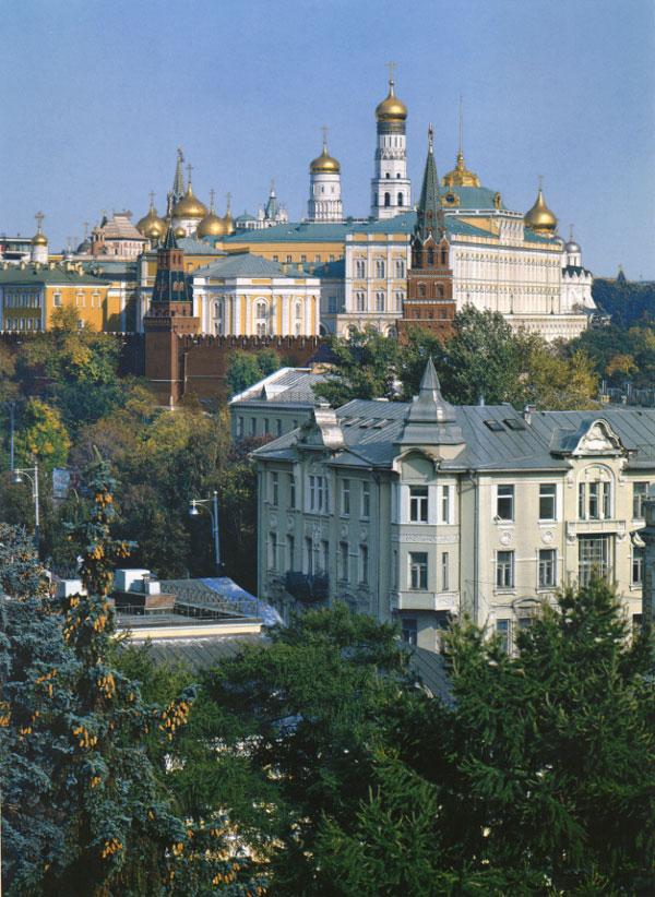 Вид на Кремль. Фото