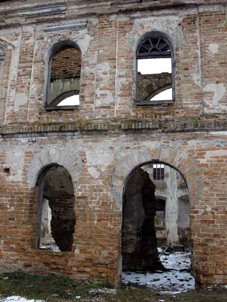 Развалины синагоги, Белоруссия, фото
