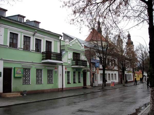 Еврейская улица, Пинск, фото