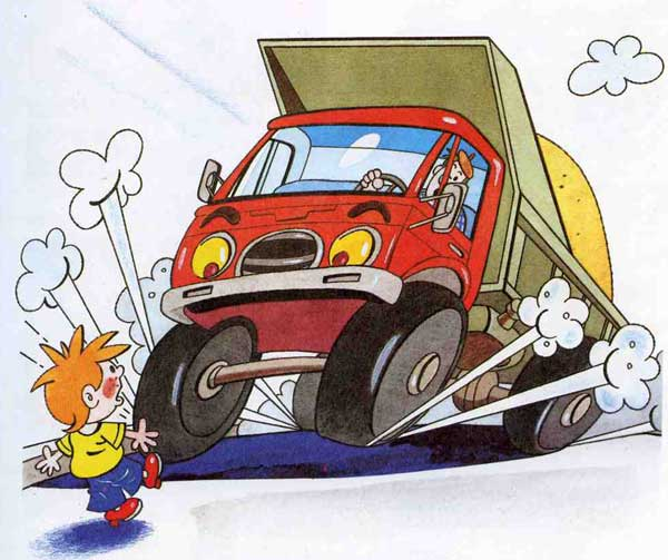 рисунки дорожного движения: