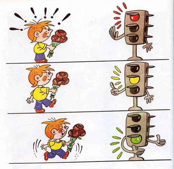 Правила дорожного движения картинки детские