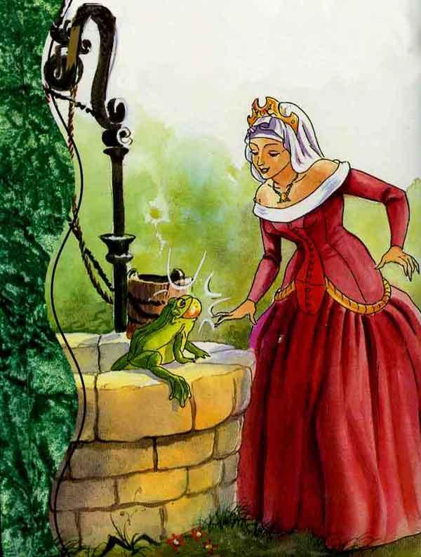 Король-лягушонок. Сказка братьев Гримм