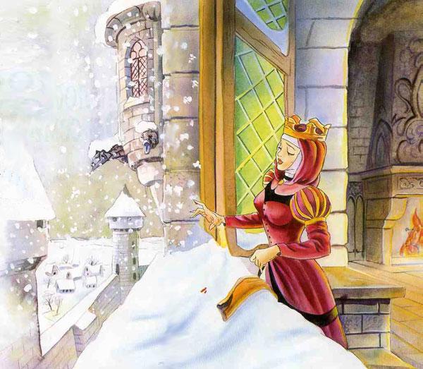 Иллюстрация 1 к сказке Белоснежка