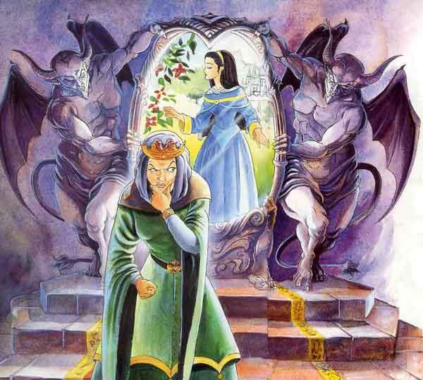 Иллюстрация 2 к сказке Белоснежка