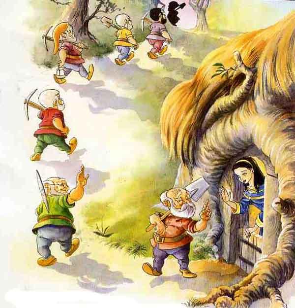Иллюстрация 5 к сказке Белоснежка