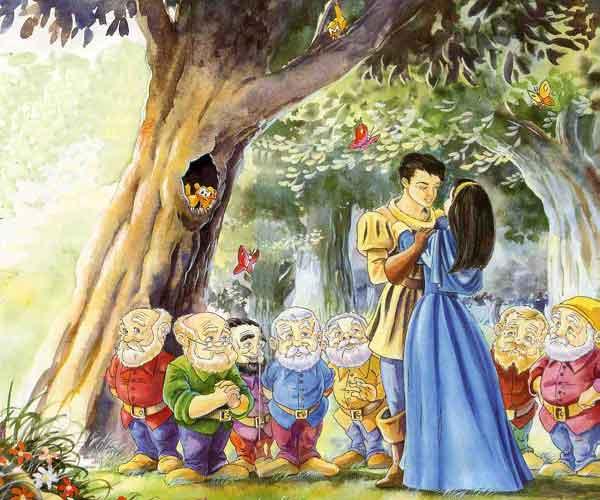 Иллюстрация 8 к сказке Белоснежка