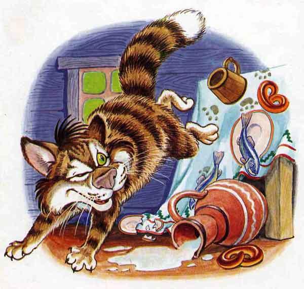 Иллюстрация 1 к сказке Кот и лиса