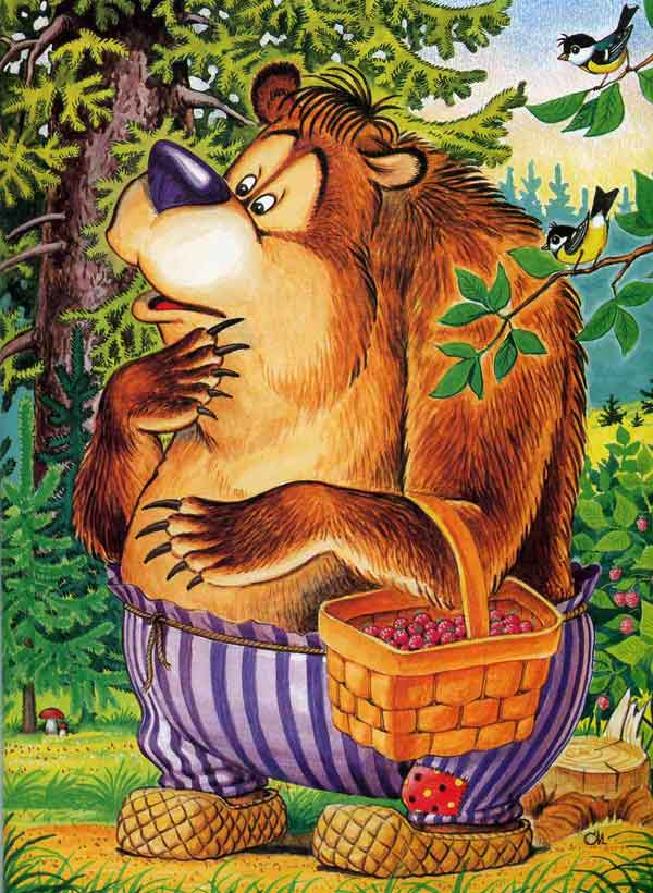 Иллюстрация 5 к сказке Кот и лиса