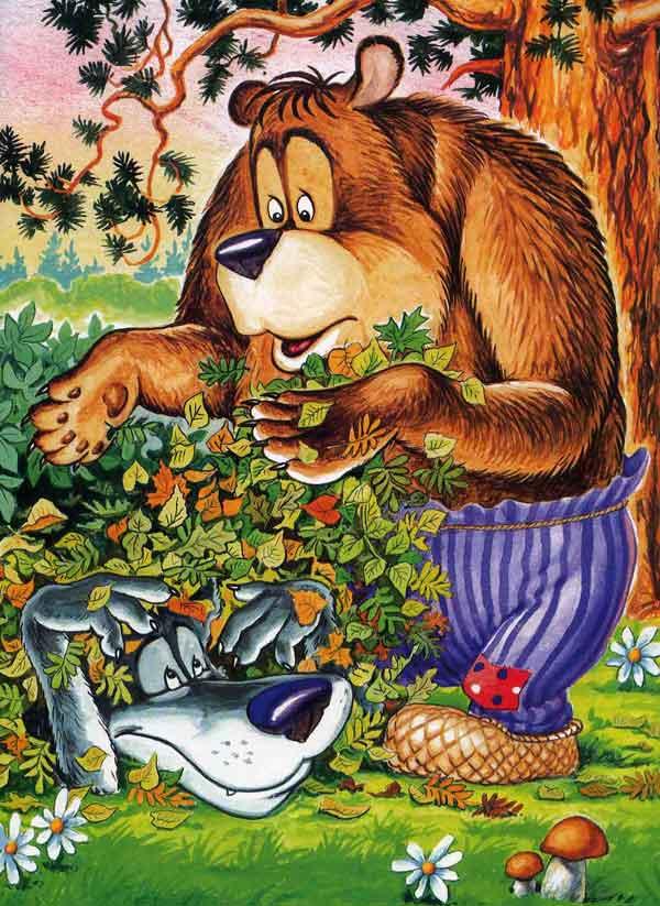 Иллюстрация 7 к сказке Кот и лиса