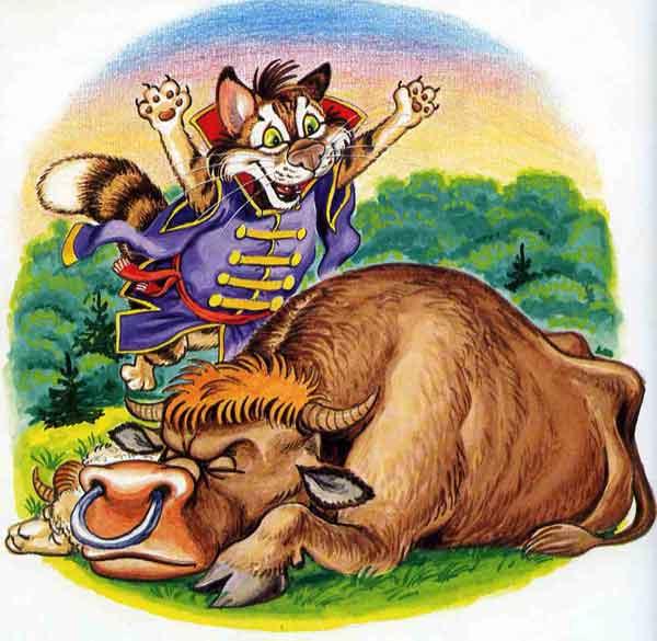 Иллюстрация 8 к сказке Кот и лиса