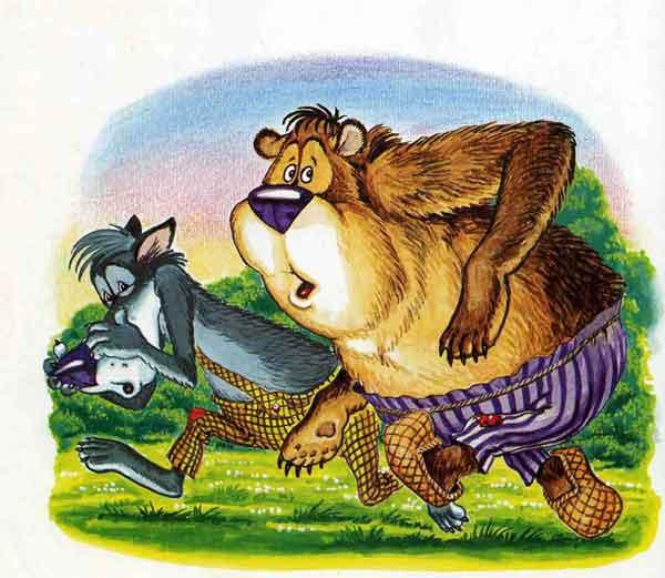 Иллюстрация 9 к сказке Кот и лиса
