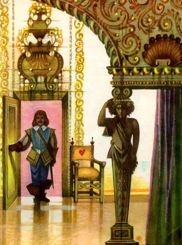 Принц тоскует, картинка