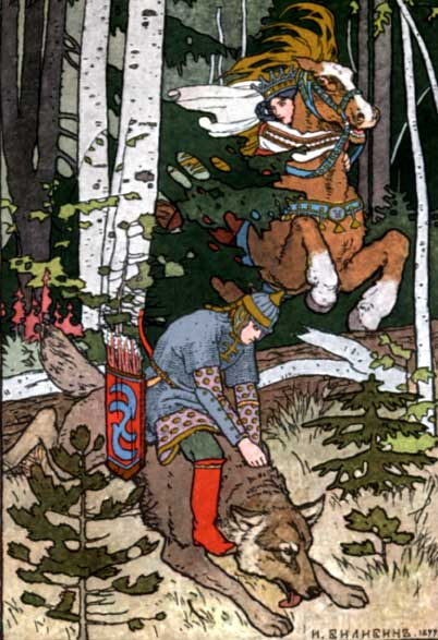 Graue wolf сказка об иване царевиче жар