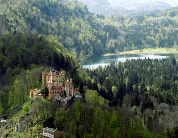 Замок Хоеншвангау, Германия, фото