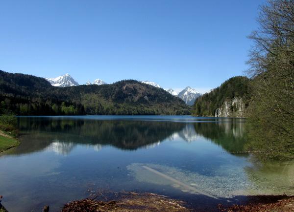 Это Альпийское озеро (Альпзее)