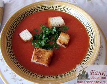 Рецепт супа из помидоров гаспачо рецепт