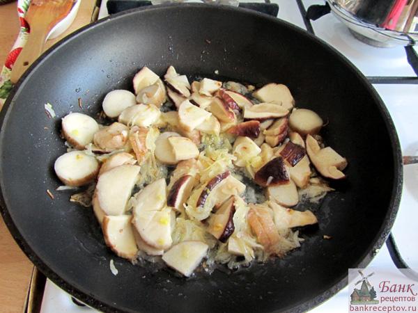 белые грибы рецепты приготовления с фото