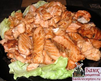 красная рыба жареная рецепт с фото