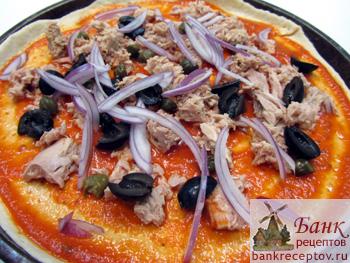 рецепт пиццы с фото выпечка