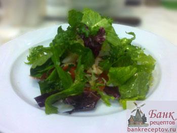 Соус для зеленого салата