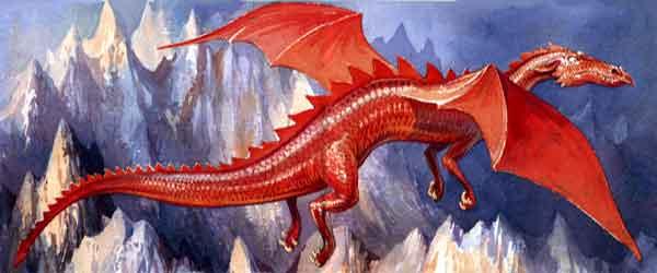 Джордж и дракон, сказка для детей с картинками