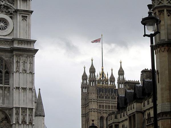 Флаг на парламенте, фото