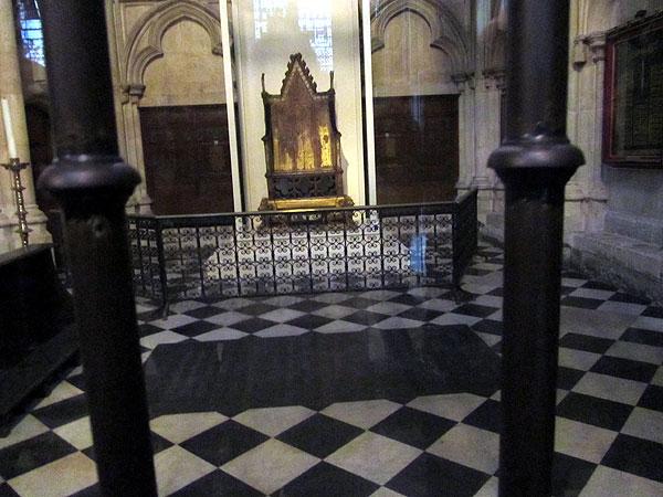 коронационный трон, фото