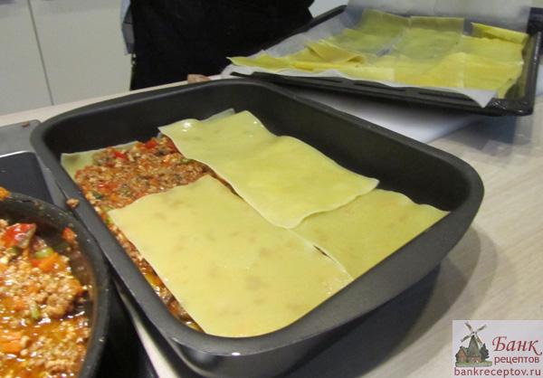 Лазанья из готовых листов рецепт пошаговым