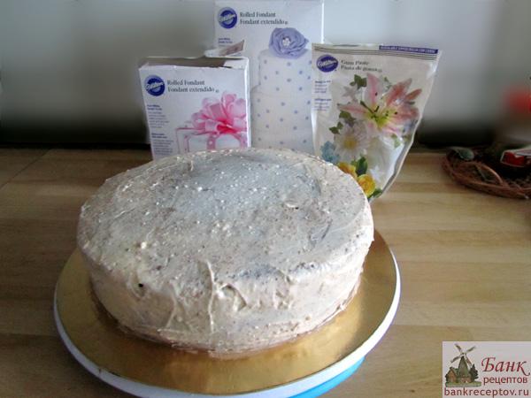 Чем закрасить крем для торта в домашних условиях