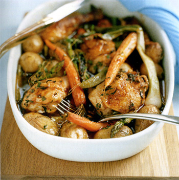 Курица по французскому рецепту с фото