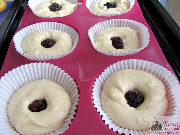 Кексы из творожного теста рецепт с фото