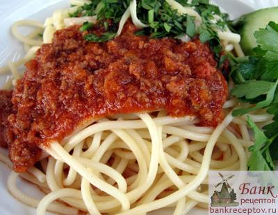 что можно приготовить к спагетти