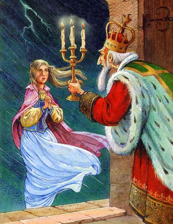 Сказка Принцесса на горошине