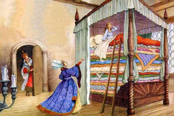 Сказку Андерсена Принцесса На Горошине