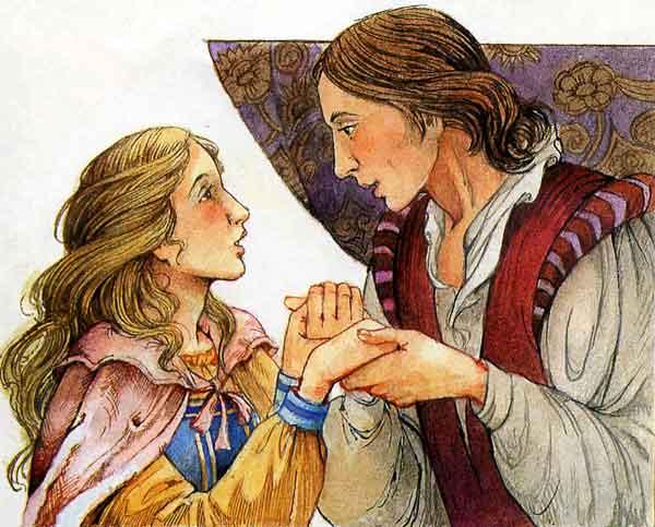 Принц и принцесса на горошине, фото
