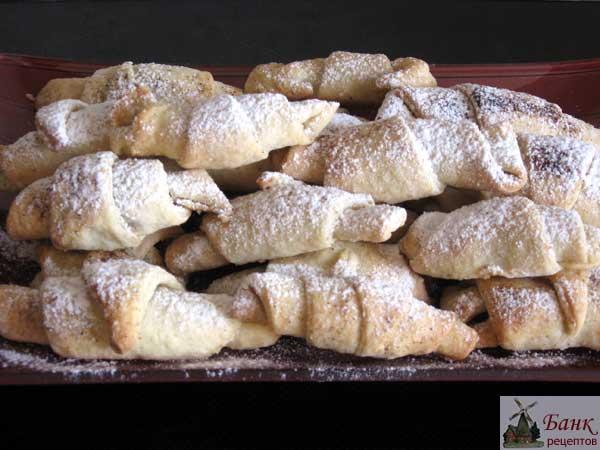 печенье трубочки пальчики рецепт с фото