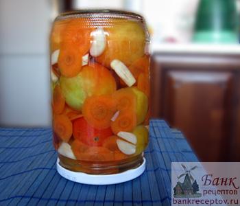 Рецепт малосольных помидор