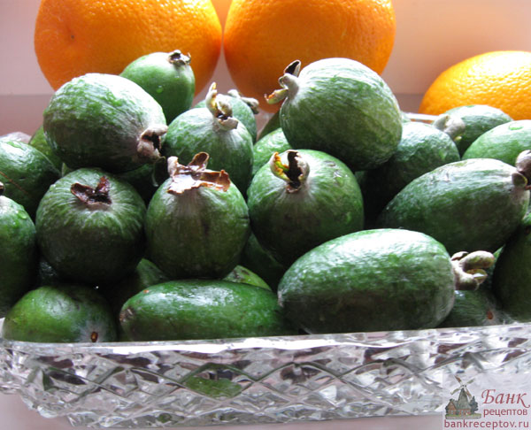 Фейхоа с апельсином, фото