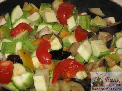 овощной гарнир рецепты с фото